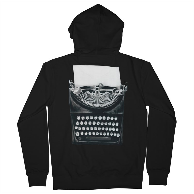 These Books Must Be Destroyed! Women's French Terry Zip-Up Hoody by Zombie Rust's Artist Shop
