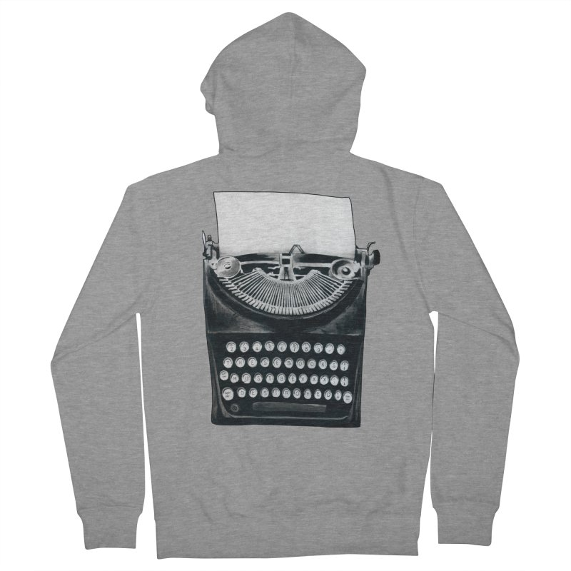 These Books Must Be Destroyed! Men's French Terry Zip-Up Hoody by Zombie Rust's Artist Shop
