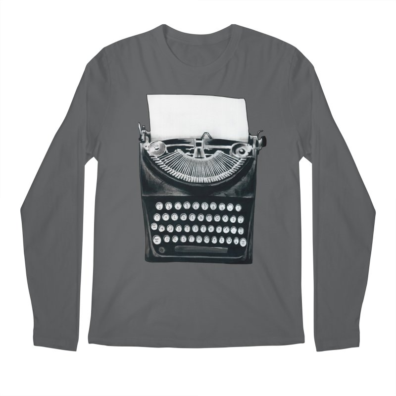 These Books Must Be Destroyed! Men's Longsleeve T-Shirt by Zombie Rust's Artist Shop