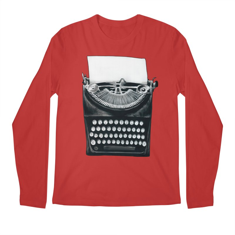 These Books Must Be Destroyed! Men's Regular Longsleeve T-Shirt by Zombie Rust's Artist Shop