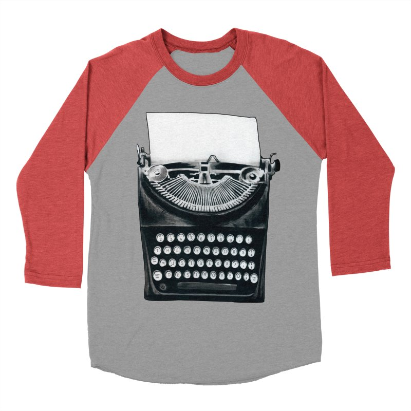 These Books Must Be Destroyed! Men's Baseball Triblend T-Shirt by Zombie Rust's Artist Shop