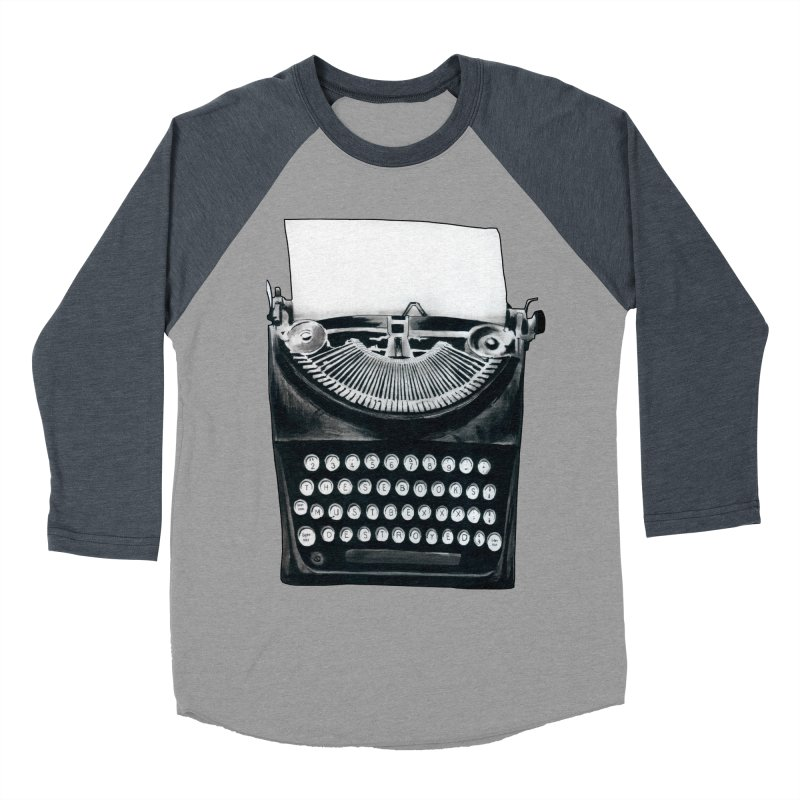 These Books Must Be Destroyed! Men's Baseball Triblend Longsleeve T-Shirt by Zombie Rust's Artist Shop