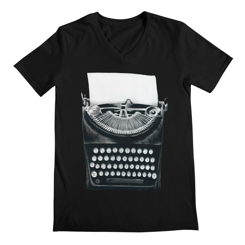 These Books Must Be Destroyed! Men's V-Neck by Zombie Rust's Artist Shop