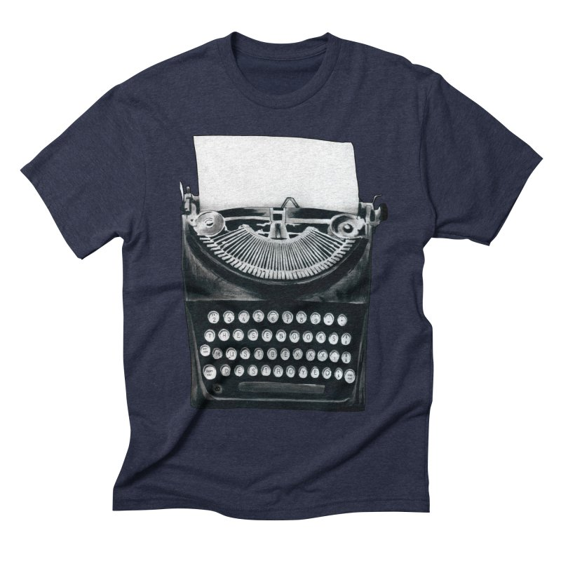 These Books Must Be Destroyed! Men's Triblend T-shirt by Zombie Rust's Artist Shop