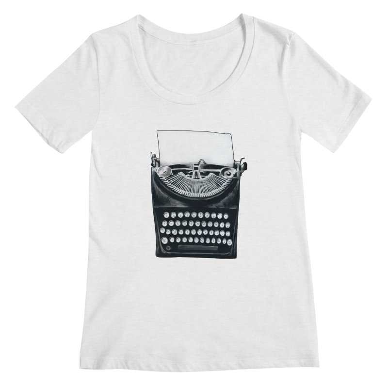 These Books Must Be Destroyed! Women's Regular Scoop Neck by Zombie Rust's Artist Shop