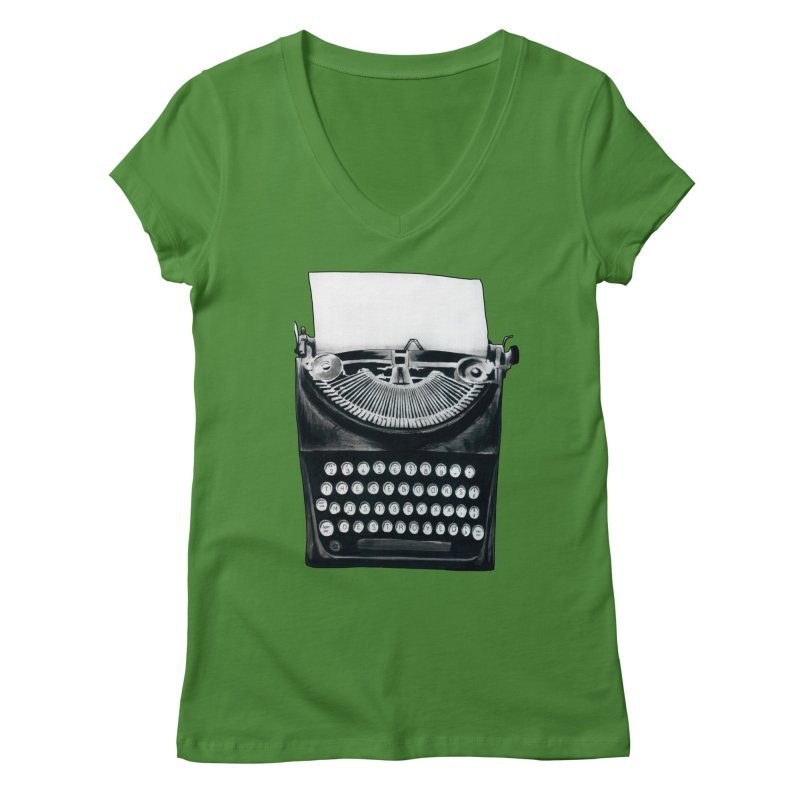 These Books Must Be Destroyed! Women's V-Neck by Zombie Rust's Artist Shop