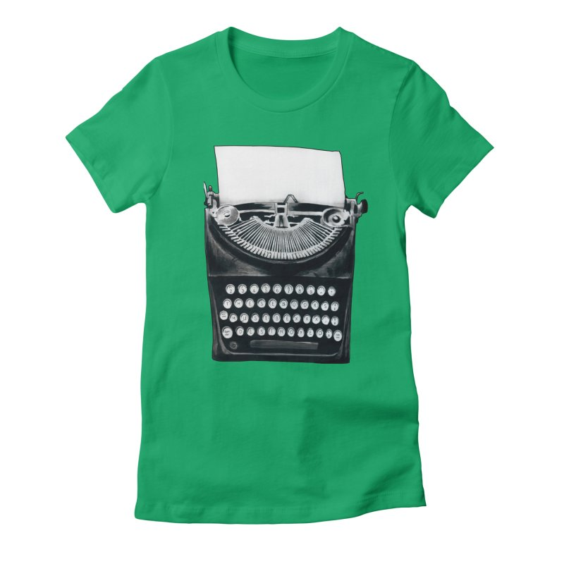 These Books Must Be Destroyed! Women's Fitted T-Shirt by Zombie Rust's Artist Shop