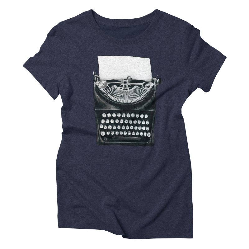 These Books Must Be Destroyed! Women's Triblend T-Shirt by Zombie Rust's Artist Shop