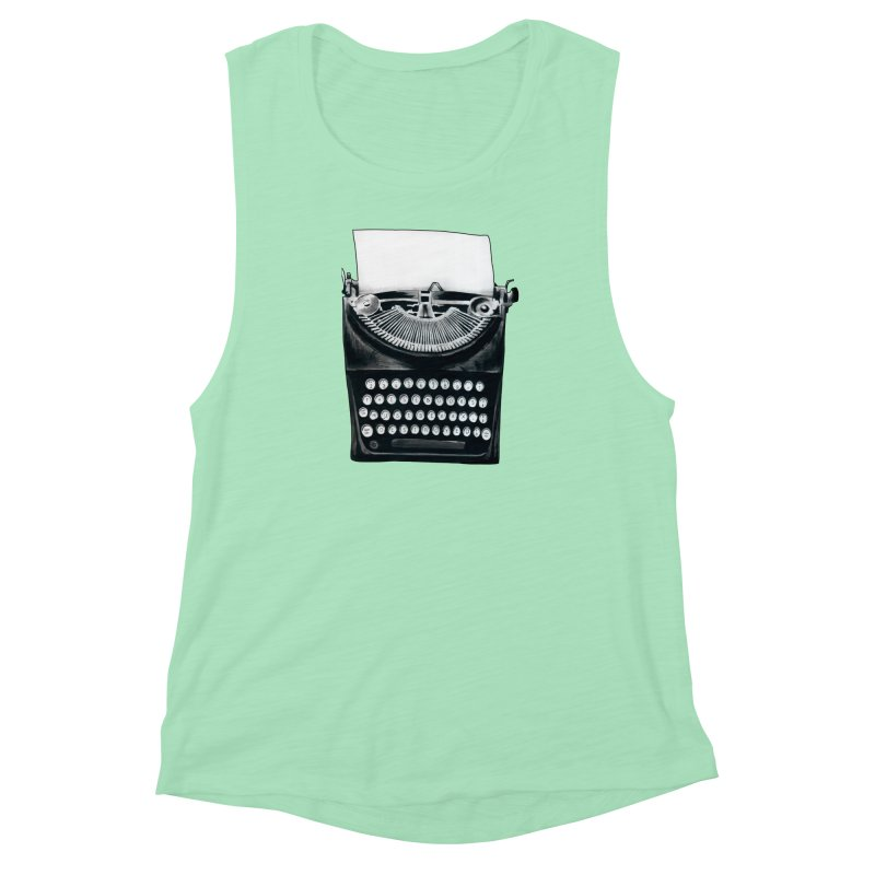 These Books Must Be Destroyed! Women's Muscle Tank by Zombie Rust's Artist Shop
