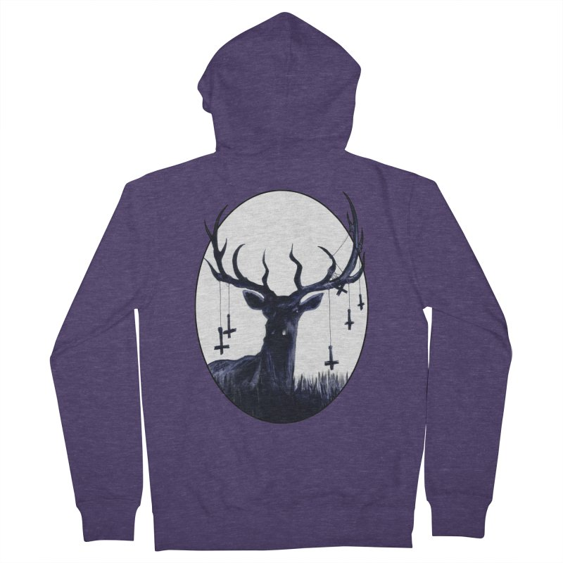 Destiny Waster Hits Nadir Men's French Terry Zip-Up Hoody by Zombie Rust's Artist Shop