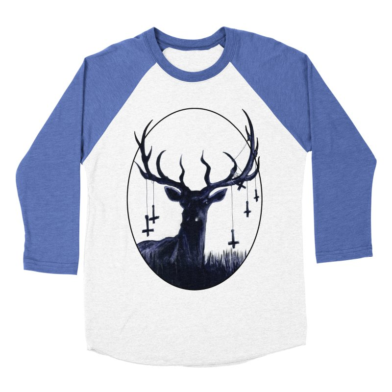 Destiny Waster Hits Nadir Women's Baseball Triblend Longsleeve T-Shirt by Zombie Rust's Artist Shop