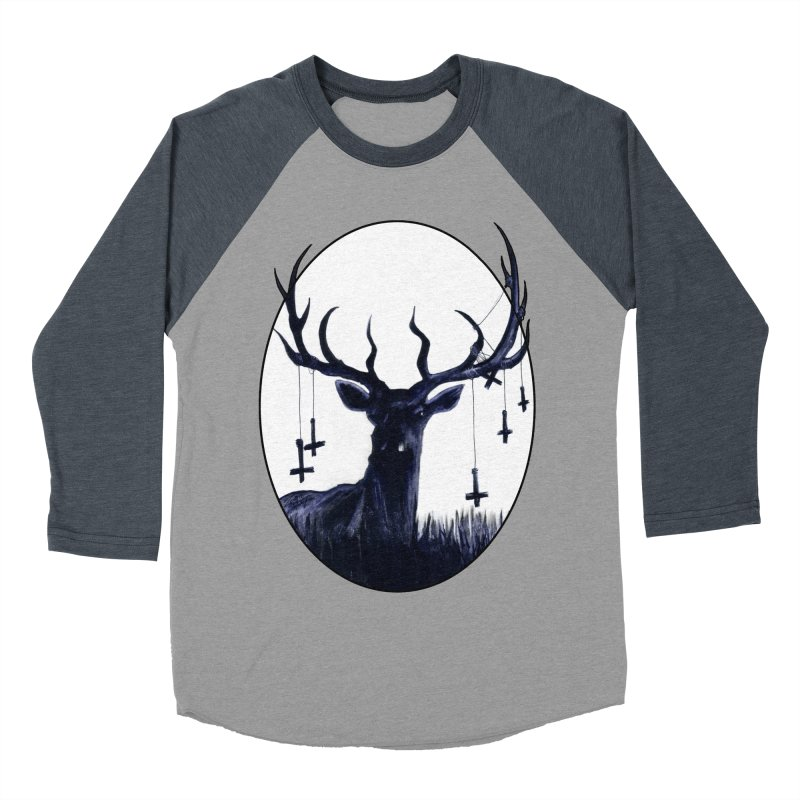 Destiny Waster Hits Nadir Women's Baseball Triblend T-Shirt by Zombie Rust's Artist Shop
