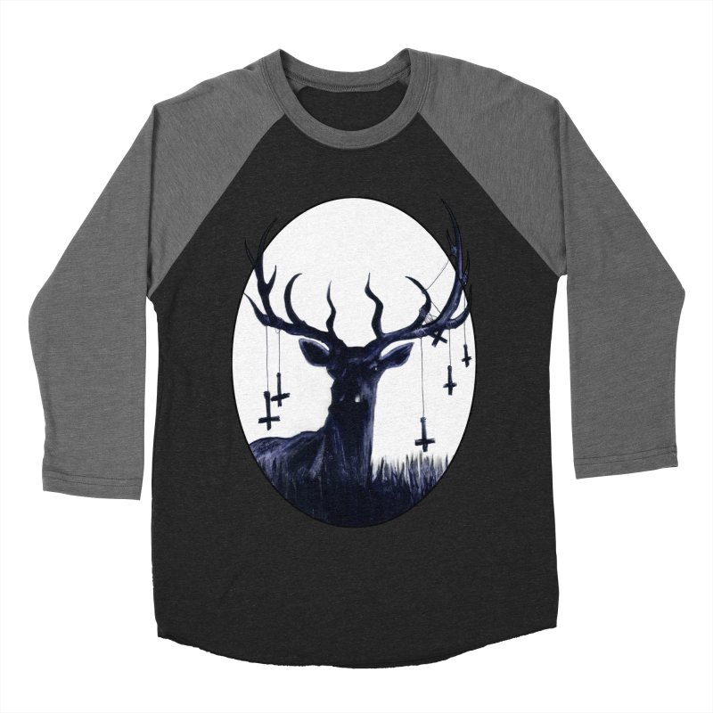 Destiny Waster Hits Nadir Men's Baseball Triblend Longsleeve T-Shirt by Zombie Rust's Artist Shop