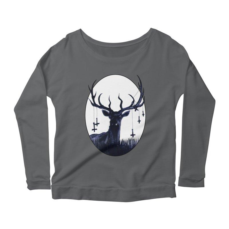 Destiny Waster Hits Nadir Women's Scoop Neck Longsleeve T-Shirt by Zombie Rust's Artist Shop