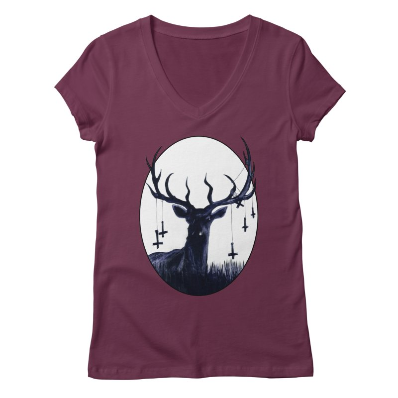 Destiny Waster Hits Nadir Women's Regular V-Neck by Zombie Rust's Artist Shop