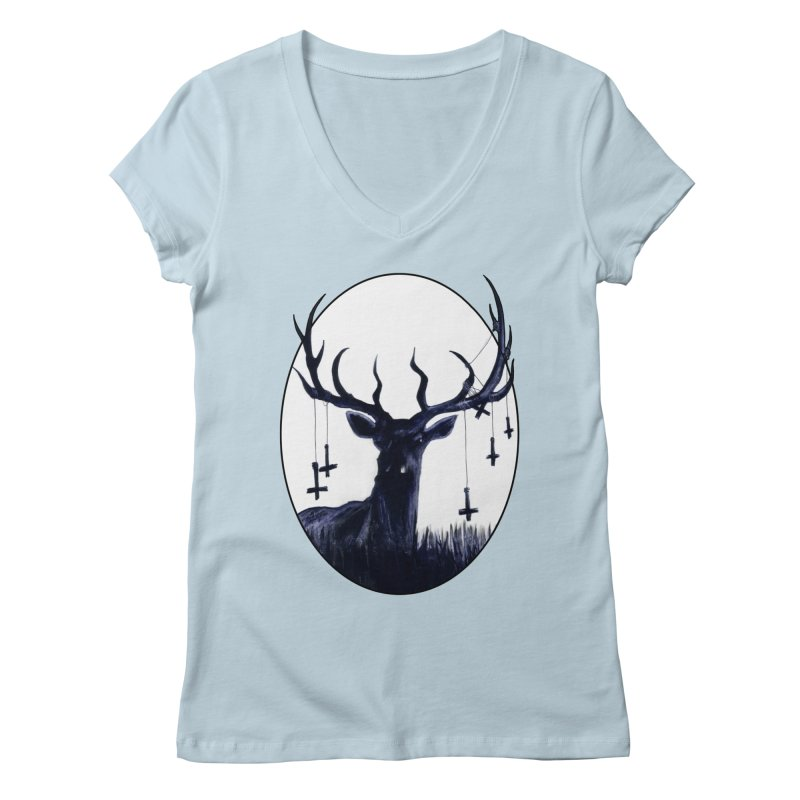 Destiny Waster Hits Nadir Women's V-Neck by Zombie Rust's Artist Shop
