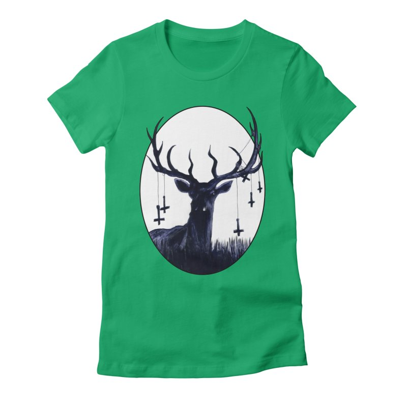 Destiny Waster Hits Nadir Women's Fitted T-Shirt by Zombie Rust's Artist Shop