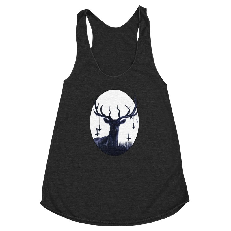 Destiny Waster Hits Nadir Women's Racerback Triblend Tank by Zombie Rust's Artist Shop