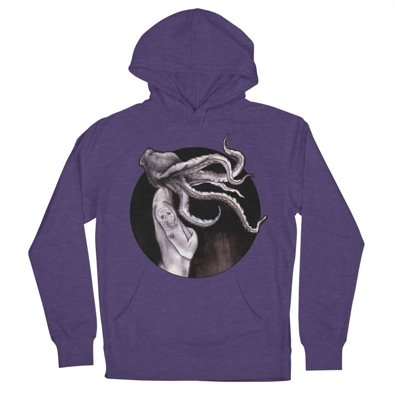 Something Touched Me And I Was Only Sleeping Women's Pullover Hoody by Zombie Rust's Artist Shop