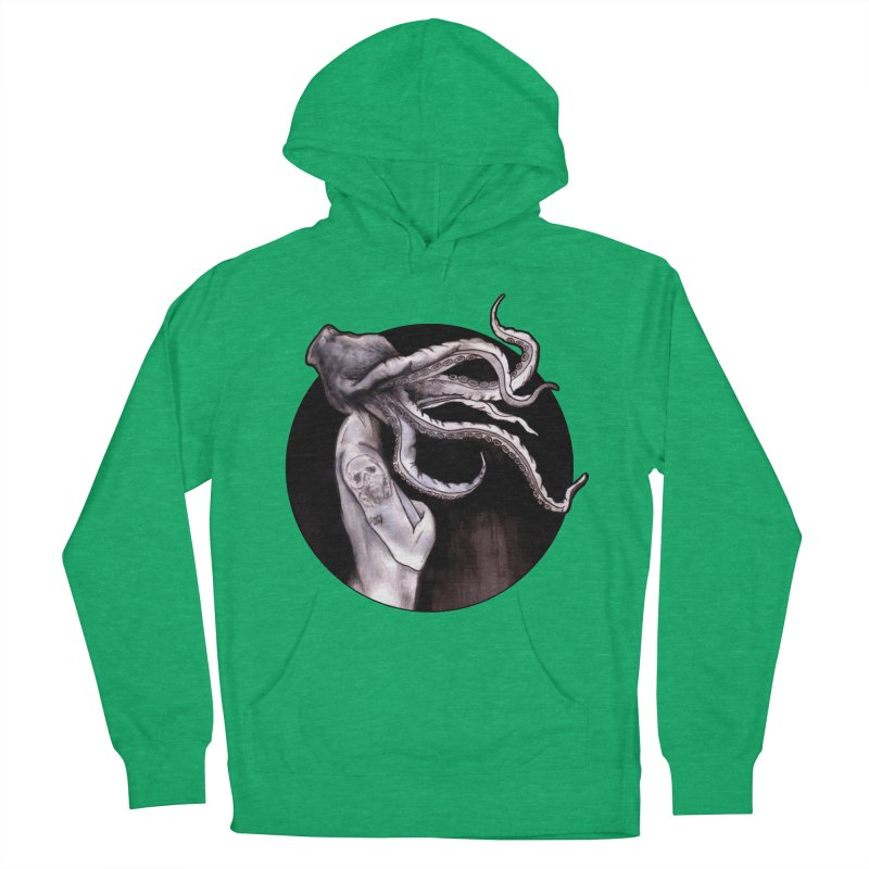 Something Touched Me And I Was Only Sleeping Men's French Terry Pullover Hoody by Zombie Rust's Artist Shop