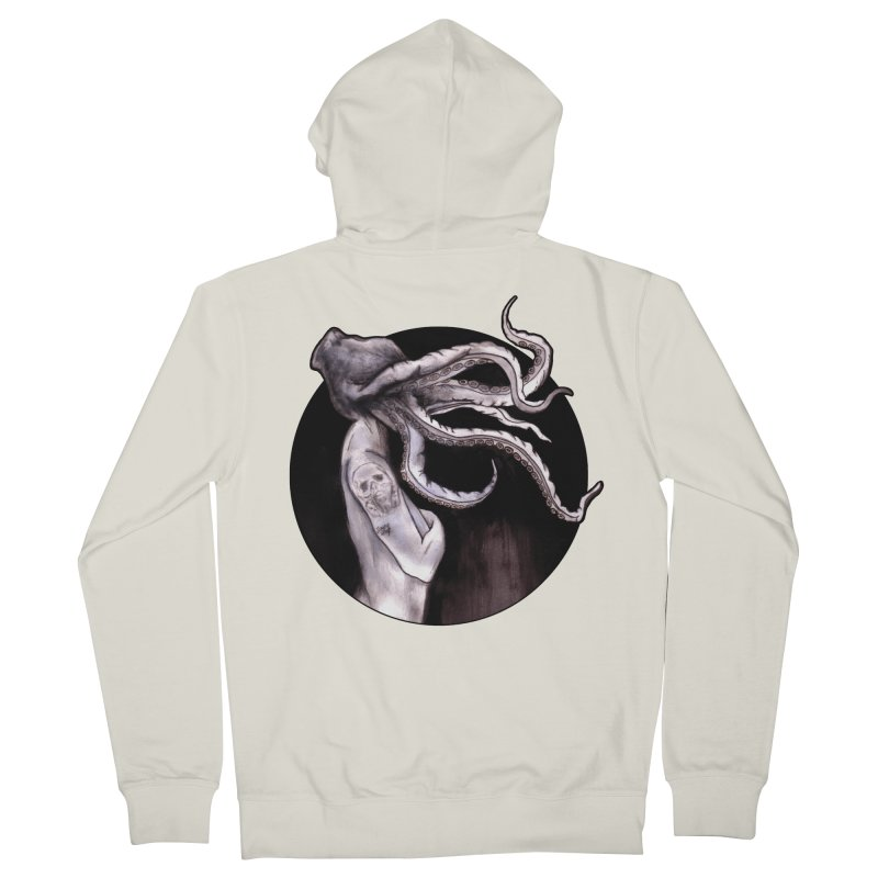 Something Touched Me And I Was Only Sleeping Women's French Terry Zip-Up Hoody by Zombie Rust's Artist Shop