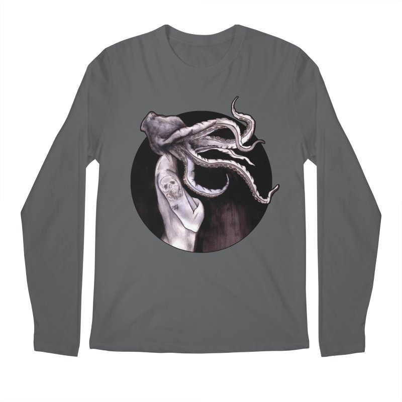 Something Touched Me And I Was Only Sleeping Men's Longsleeve T-Shirt by Zombie Rust's Artist Shop