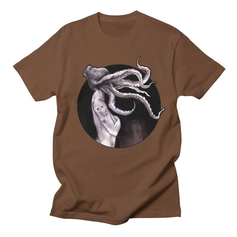 Something Touched Me And I Was Only Sleeping Men's T-shirt by Zombie Rust's Artist Shop