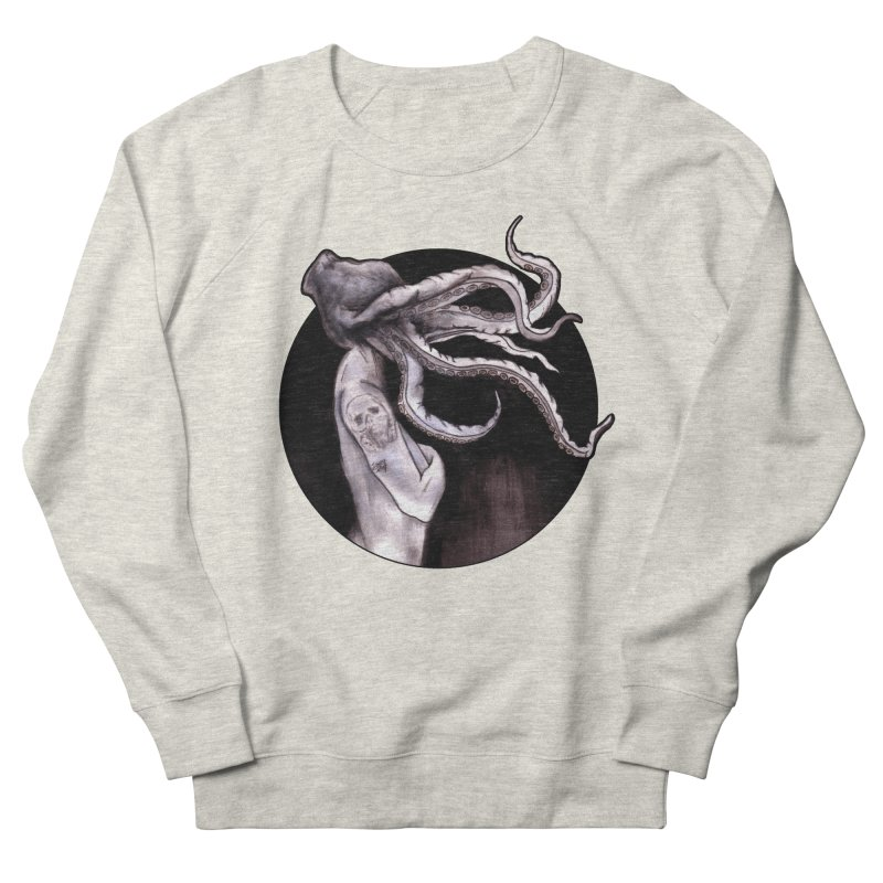 Something Touched Me And I Was Only Sleeping Men's Sweatshirt by Zombie Rust's Artist Shop