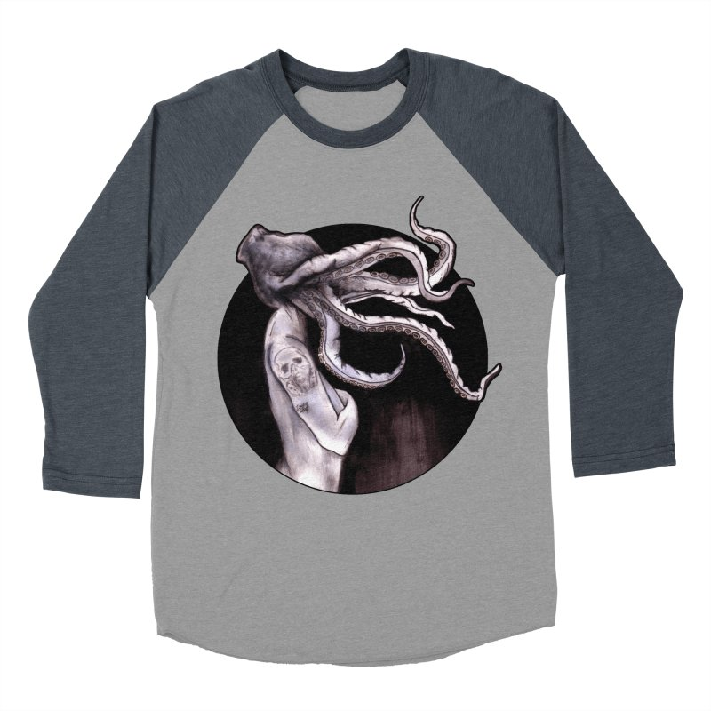 Something Touched Me And I Was Only Sleeping Women's Baseball Triblend Longsleeve T-Shirt by Zombie Rust's Artist Shop