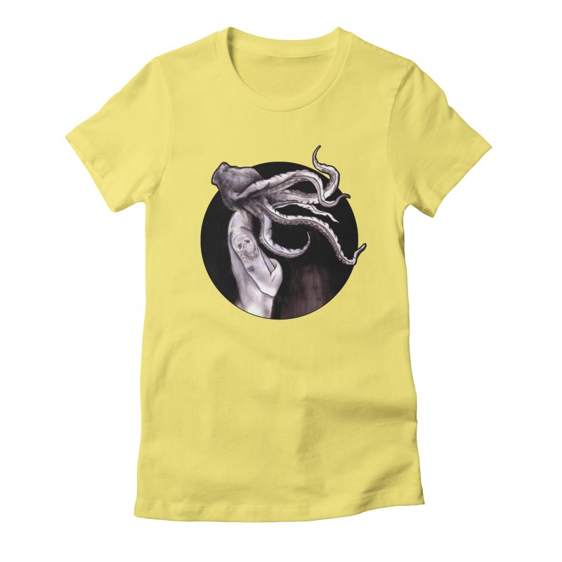 Something Touched Me And I Was Only Sleeping Women's T-Shirt by Zombie Rust's Artist Shop