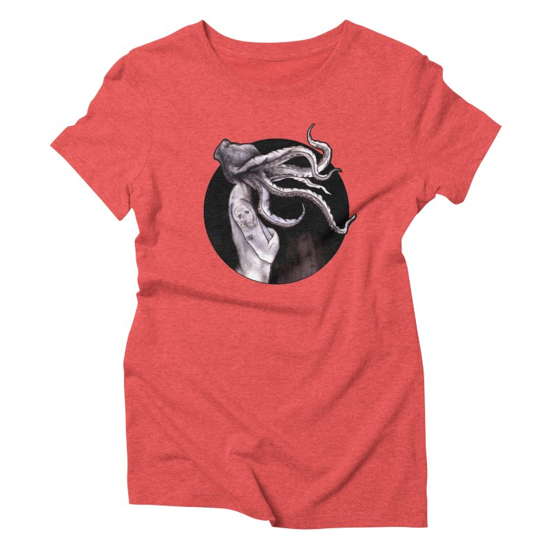 Something Touched Me And I Was Only Sleeping Women's Triblend T-Shirt by Zombie Rust's Artist Shop