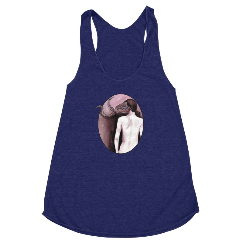 How I Could Be So Immune Women's Racerback Triblend Tank by Zombie Rust's Artist Shop