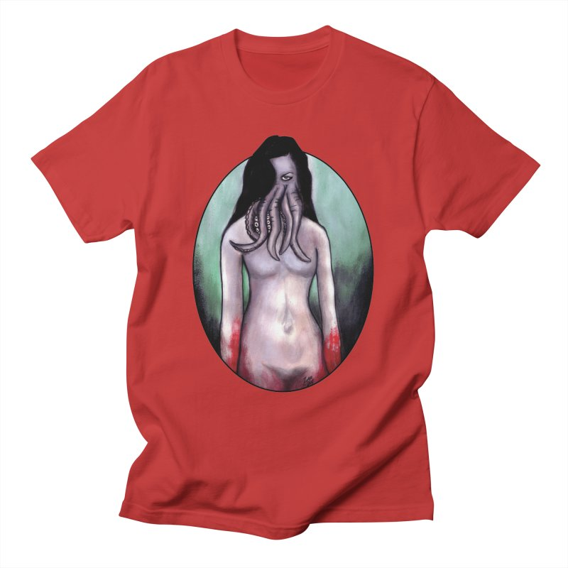 Someone Sent You Something Satanic Men's T-Shirt by Zombie Rust's Artist Shop