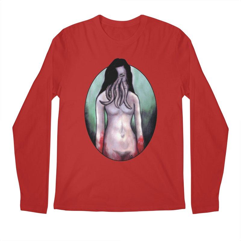 Someone Sent You Something Satanic Men's Longsleeve T-Shirt by Zombie Rust's Artist Shop