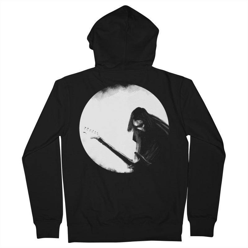 Shoegaze Men's French Terry Zip-Up Hoody by Zombie Rust's Artist Shop