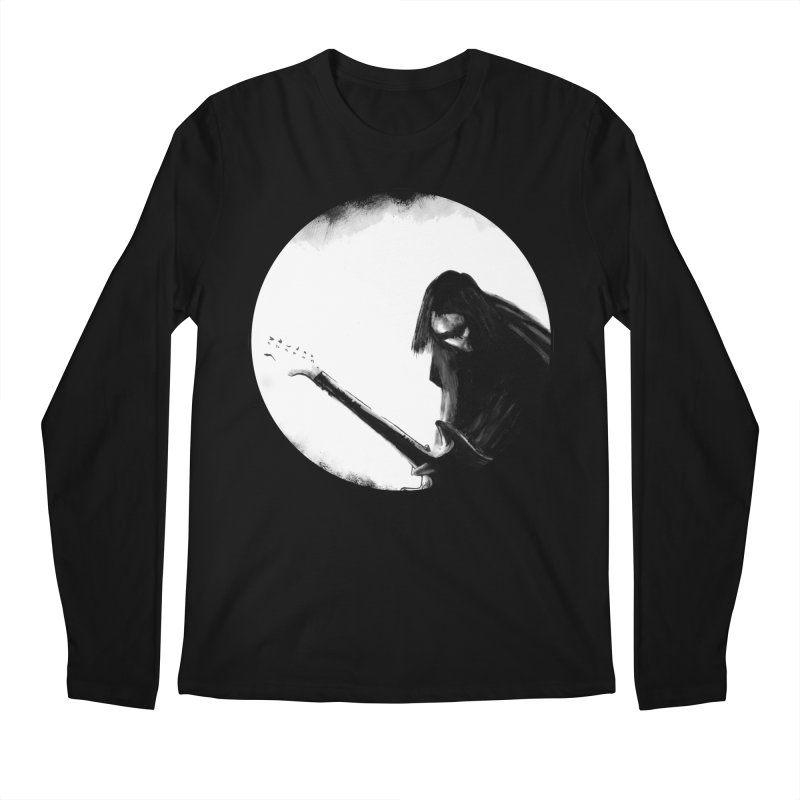 Shoegaze Men's Longsleeve T-Shirt by Zombie Rust's Artist Shop
