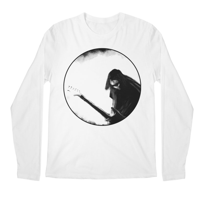 Shoegaze Men's Regular Longsleeve T-Shirt by Zombie Rust's Artist Shop