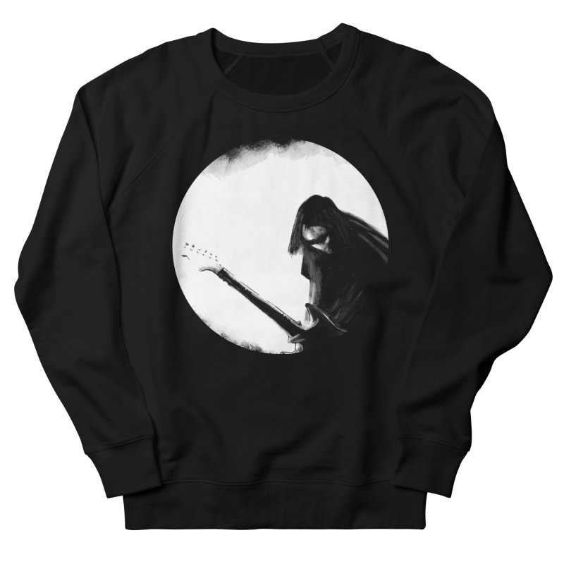 Shoegaze Women's French Terry Sweatshirt by Zombie Rust's Artist Shop