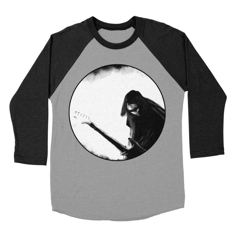 Shoegaze Men's Baseball Triblend Longsleeve T-Shirt by Zombie Rust's Artist Shop