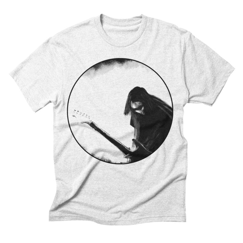 Shoegaze Men's Triblend T-shirt by Zombie Rust's Artist Shop
