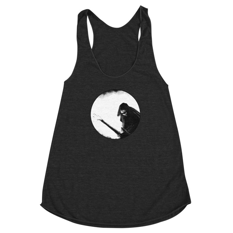 Shoegaze Women's Racerback Triblend Tank by Zombie Rust's Artist Shop