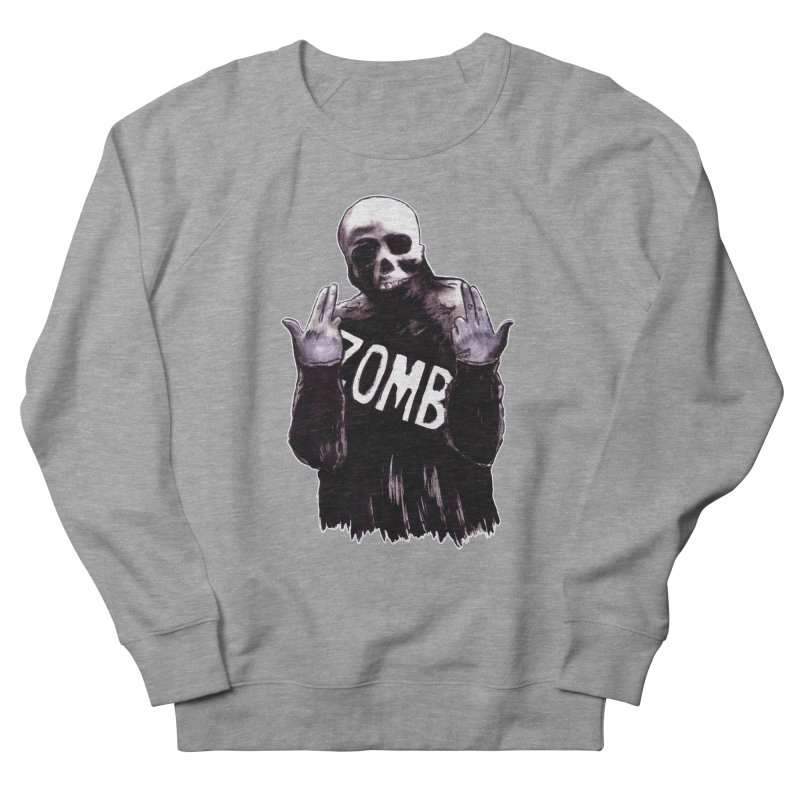 Keywords Men's French Terry Sweatshirt by Zombie Rust's Artist Shop