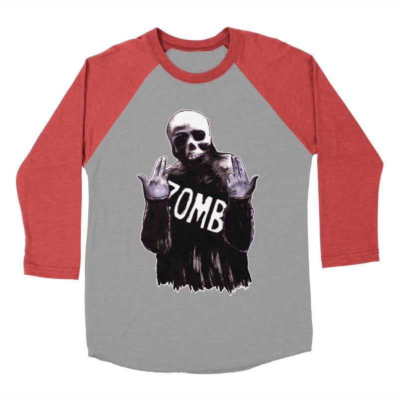 Keywords Women's Baseball Triblend Longsleeve T-Shirt by Zombie Rust's Artist Shop
