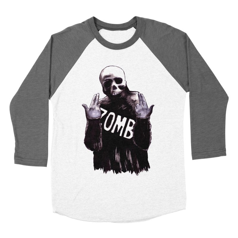 Keywords Men's Baseball Triblend Longsleeve T-Shirt by Zombie Rust's Artist Shop