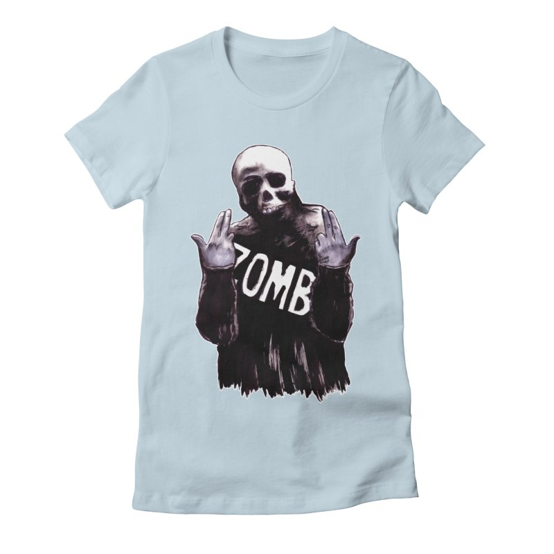 Keywords Women's T-Shirt by Zombie Rust's Artist Shop
