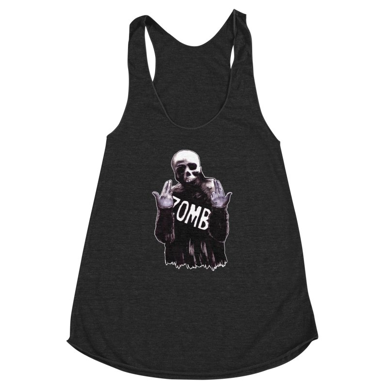 Keywords Women's Racerback Triblend Tank by Zombie Rust's Artist Shop