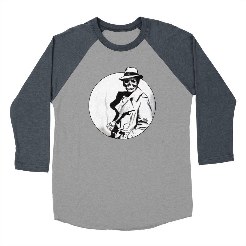 Skeleton Expatriate Women's Longsleeve T-Shirt by Zombie Rust's Artist Shop