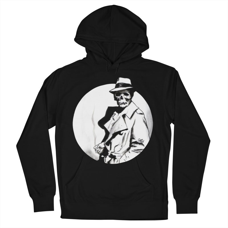 Skeleton Expatriate Men's Pullover Hoody by Zombie Rust's Artist Shop