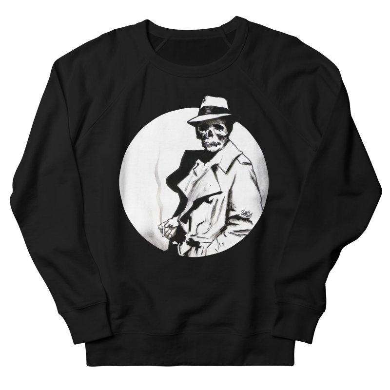 Skeleton Expatriate Men's Sweatshirt by Zombie Rust's Artist Shop