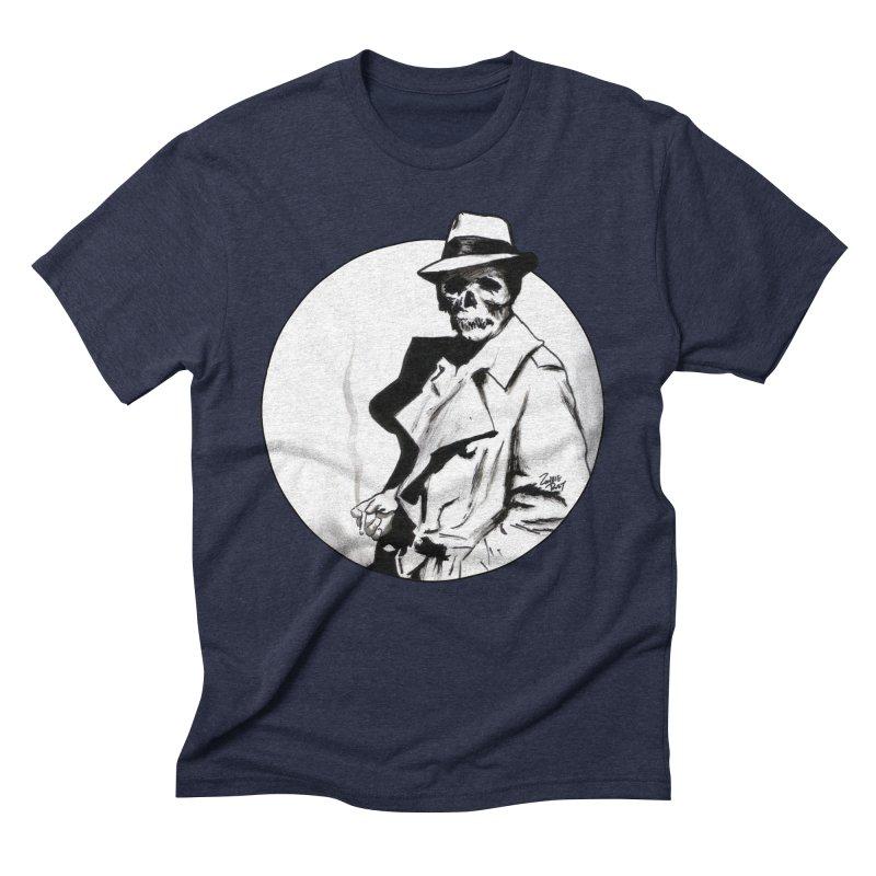 Skeleton Expatriate Men's T-Shirt by Zombie Rust's Artist Shop
